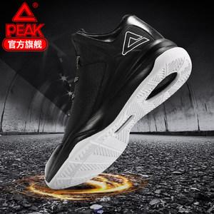 匹克篮球鞋男高帮2018冬季耐磨黑白男鞋正品球鞋实战战靴运动鞋男