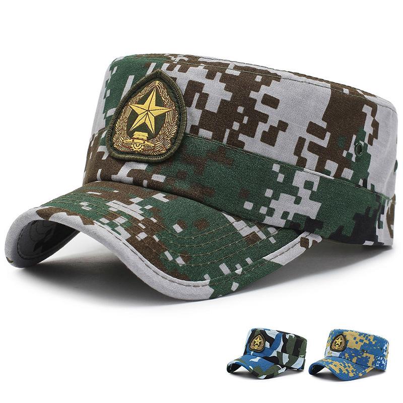 男女陆军特种兵v男女海军军夏季迷彩07迷彩帽中国军帽正版新式帽子