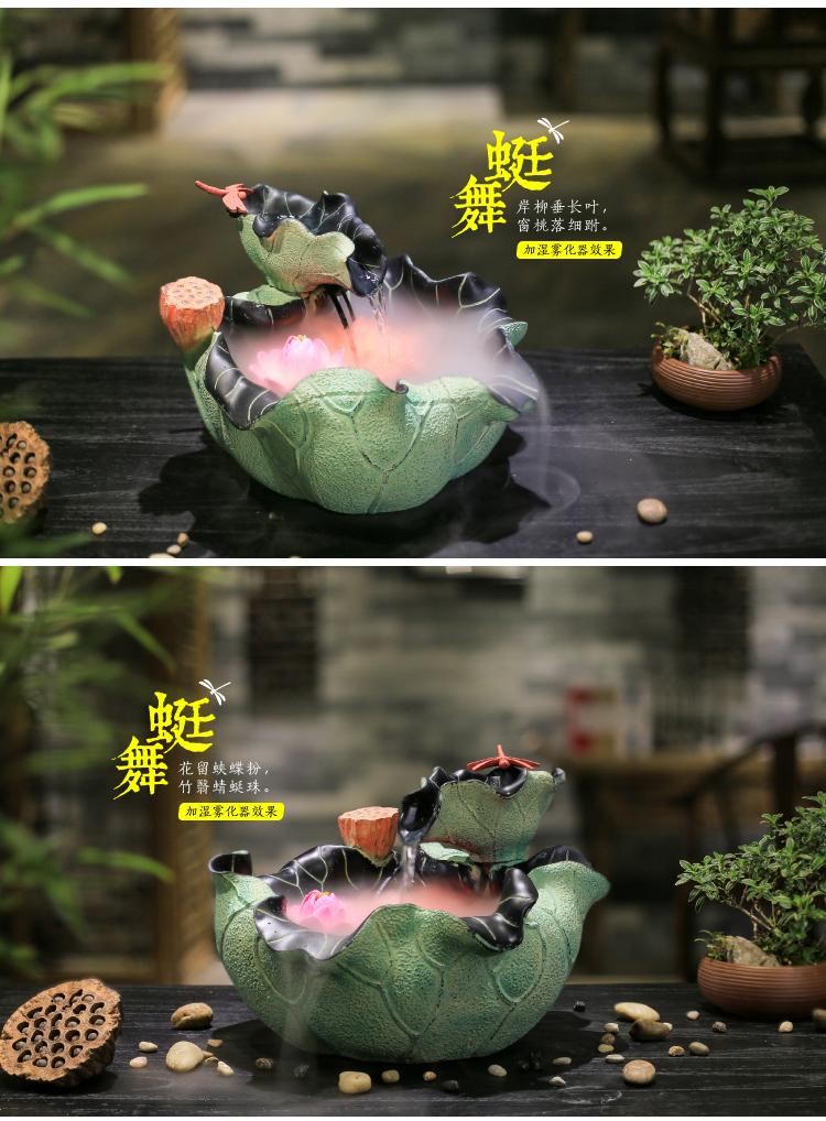 Hình ảnh nguồn hàng Tiểu cảnh hoa sen độc đáo giá sỉ quảng châu taobao 1688 trung quốc về TpHCM