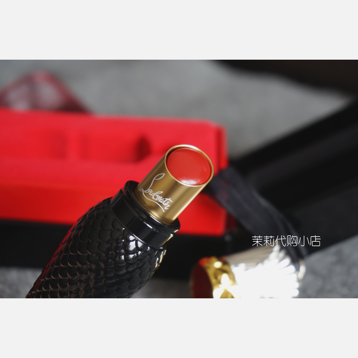 c19d3950db4 Spot Christian Louboutin CL mouth carrot black pipe lipstick 001m 001S ·  Zoom · lightbox moreview · lightbox moreview · lightbox moreview · lightbox  ...