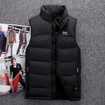 Outdoor mountaineering down Vest mens big code down vest anti-season clearance