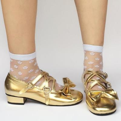 taobao agent Antaina Lolita shoes Lolita shoes Japanese sweet and cute princess shoes event bow 4114