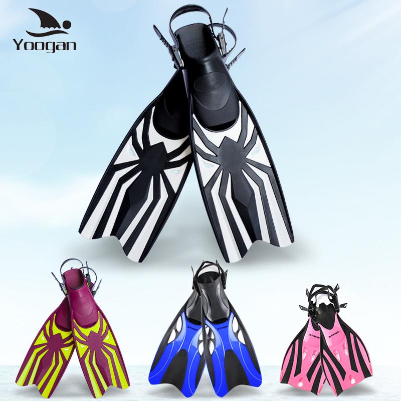 Yoogan профессиональный дайвинг ласты Snorkeling Sambo Fins регулируемый взрослый детские Оборудование для дайвинга