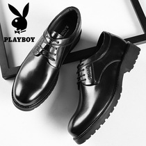 Playboy mens shoes winter casual thick bottom warm big shoes