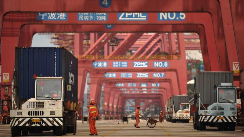 中国10月份出口增长录得19个月来最高水平,显示经济继续强劲复苏