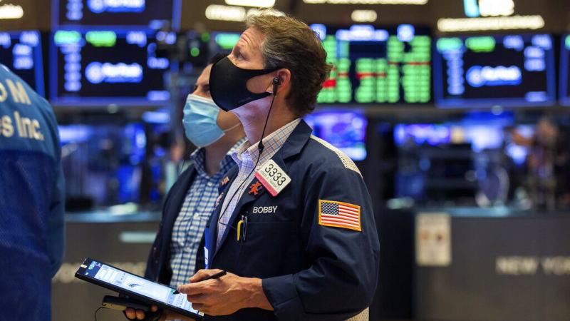 美国股市暂时失去方向感,大幅下跌后受到强劲买盘支撑,三大股指全面翻绿