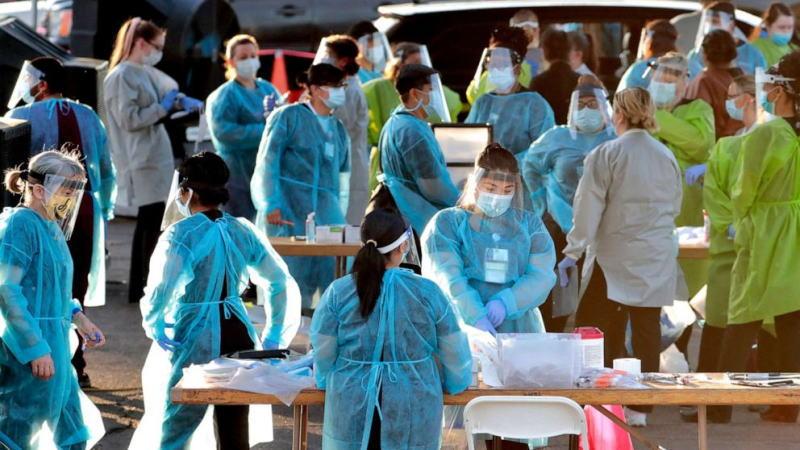 全球新冠病毒感染病例超过1042万,死亡超过50.9万。