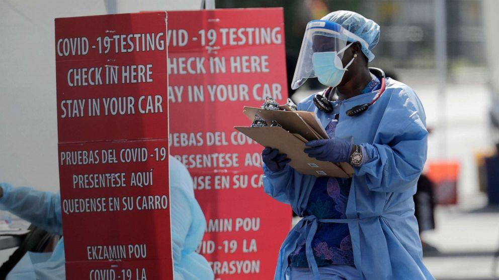 全球新冠病毒感染病例超过1186万,死亡超过54.4万。
