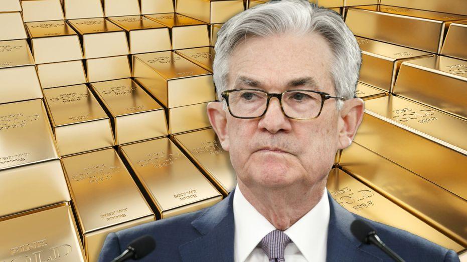 鲍威尔央行年会讲话之前,部分多头回吐锁定利润,金价下跌;如其对平均通胀目标表述含糊可能引发金价暴跌