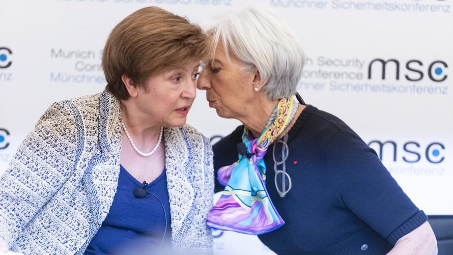 国际货币基金组织下调了全球和中国的经济增长预测,并警告可能会出现更可怕的情况