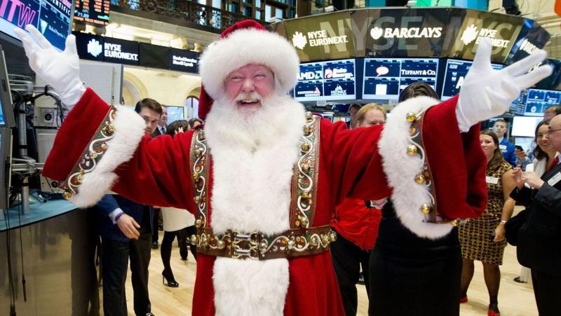 Santa Claus rally:圣诞老人升浪