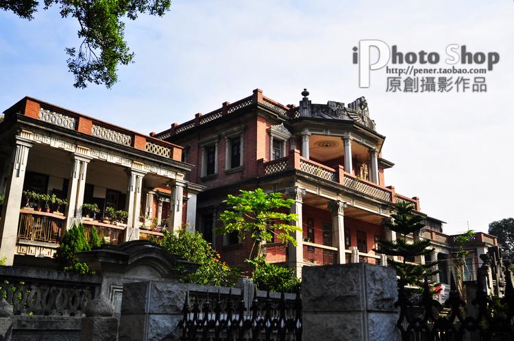 Художественное фото Оригинальные jpg фотография фотографии изображение картинки открытки искусства материала Гуланъюй остров западного стиля зданий