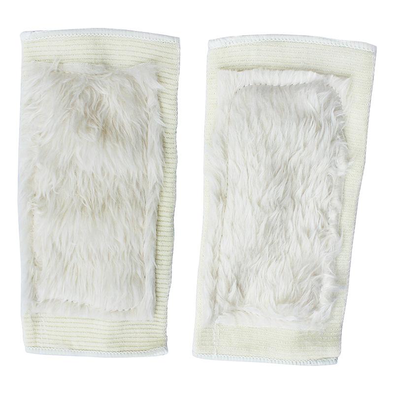 Тканевая грелка для суставов Имитация шерсть kneepad 2 только 1 суб-установлен движение в помещении тепло с флисовой изоляцией колена