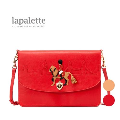 韩国专柜代购包包包/LAPALETTE新品单肩包斜小马单肩斜挎挎包