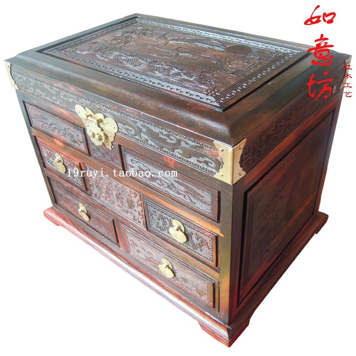 Usd 172 23 Mahogany Jewelry Box Red Acid Branch Icing On The Cake
