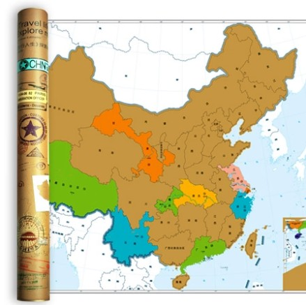 Topdot travel life exploration map scratch around the world map topdot travel life exploration map scratch around the world map poster china edition scratch a1700 gumiabroncs Image collections