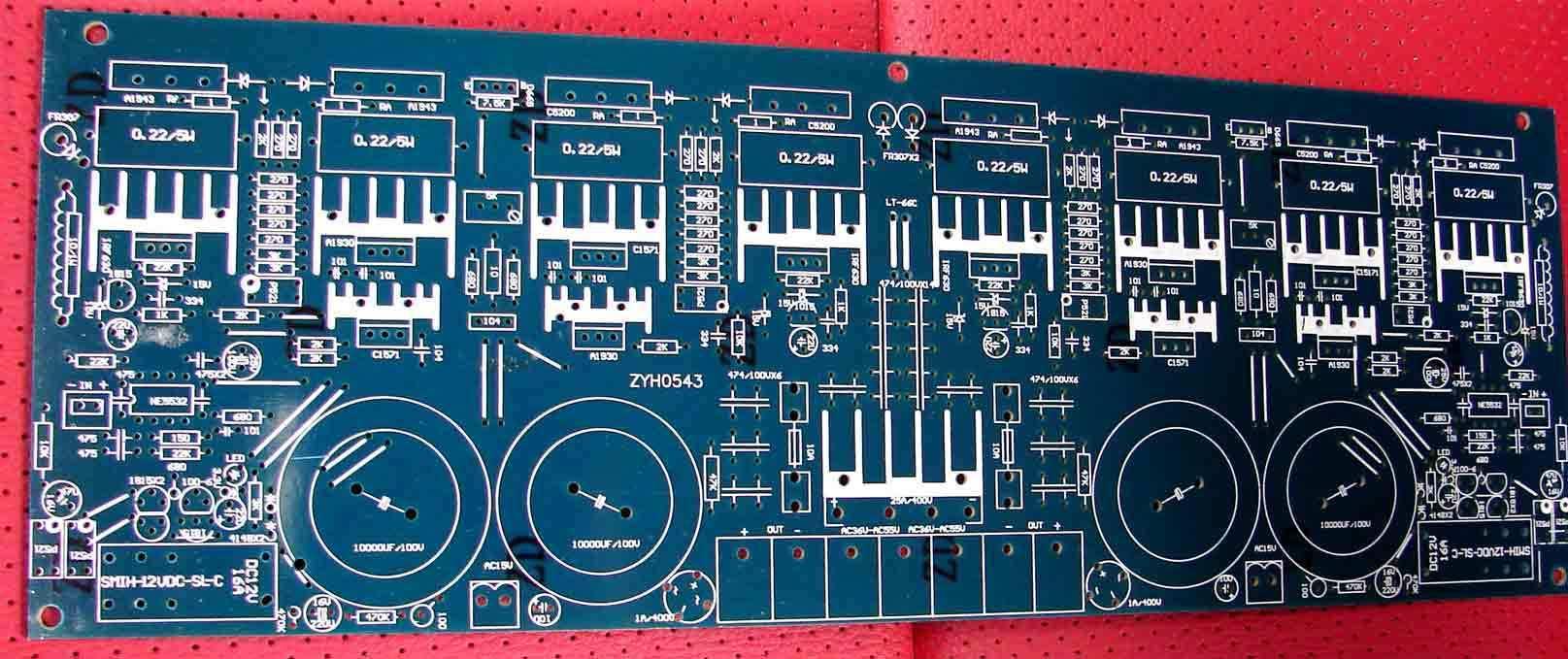 Usd 1170 High Power To Tube 500w 5532 Drive Eight 25e Pcb Printed Circuit Board Ideal Part Toshiba Amplifier 0543