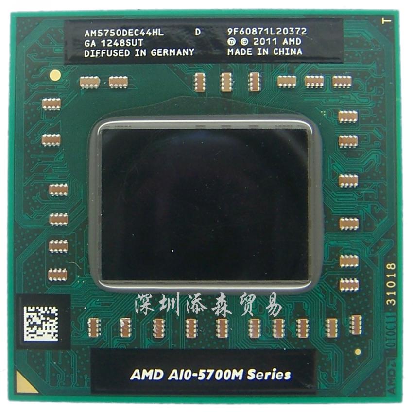 Процессор Amd  A10 5750M AM5750DEC44HL CPU A8 5550M