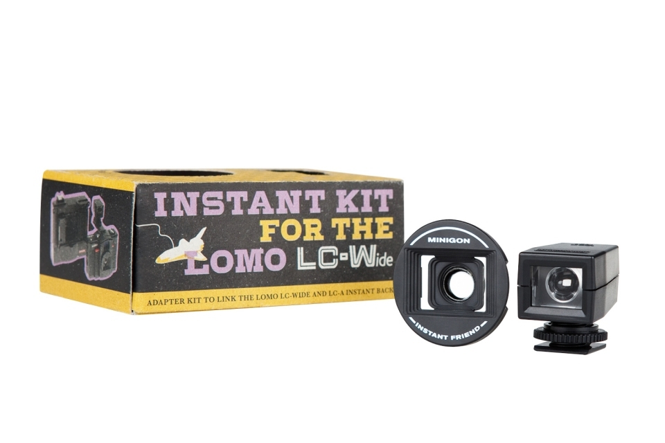 Lomo LC-Wide Instant Kit Polaroid Back Lens Focal Length Converter