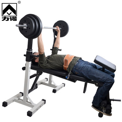 Multi-function deep squatting screwdriver barbell home fitness equipment professional fitness bed weight bed barbell bed