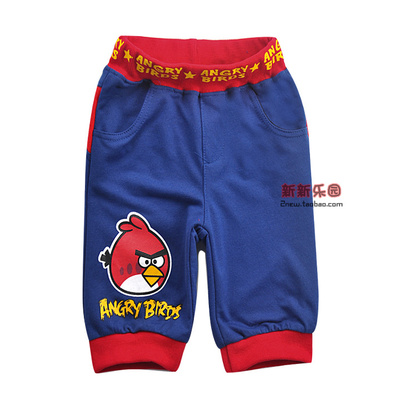Summer new cartoon children 's clothing little boy summer cotton pants children' s pants