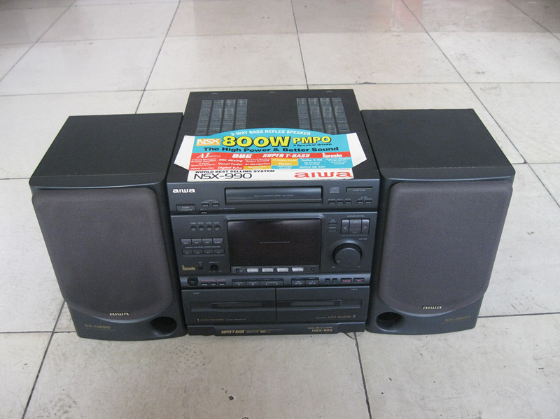 Аудиосистема Iaiwai AIWA NSX-990