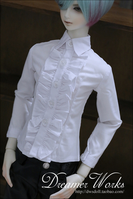 taobao agent BJD/SD doll clothes 4 points 3 points baby clothes white lace noble shirt 1/4, 1/3, uncle