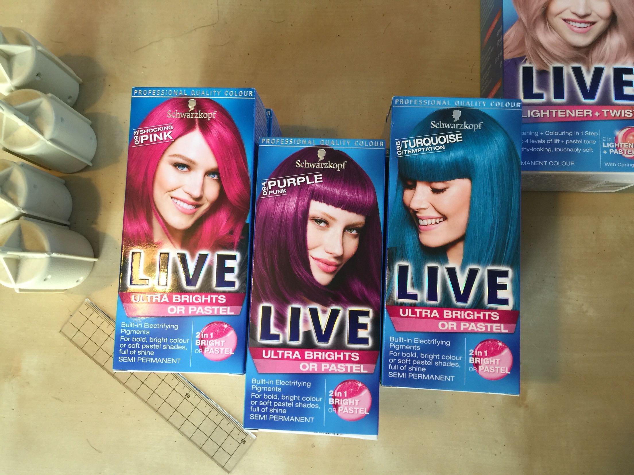Краска для волос Schwarzkopf  Live Diy