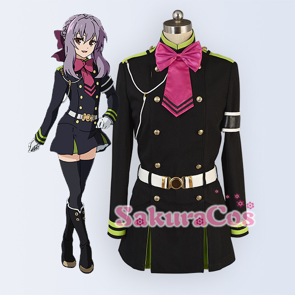 SakuraCos-Seraph of the End 筱 cos trang phục cosplay phụ nữ - Cosplay