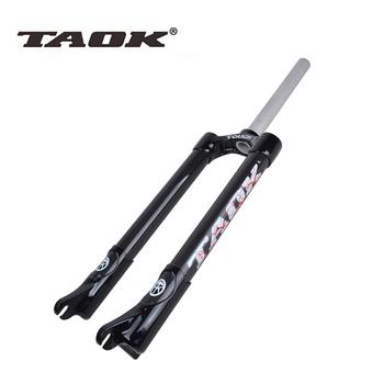 Передние вилки,  TAOK свет количество 3k углеродного волокна горный велосипед углеродный жесткий вилка велосипед вилка атлетика подъем наклон жесткий вилка  26 дюймовый, цена 9109 руб