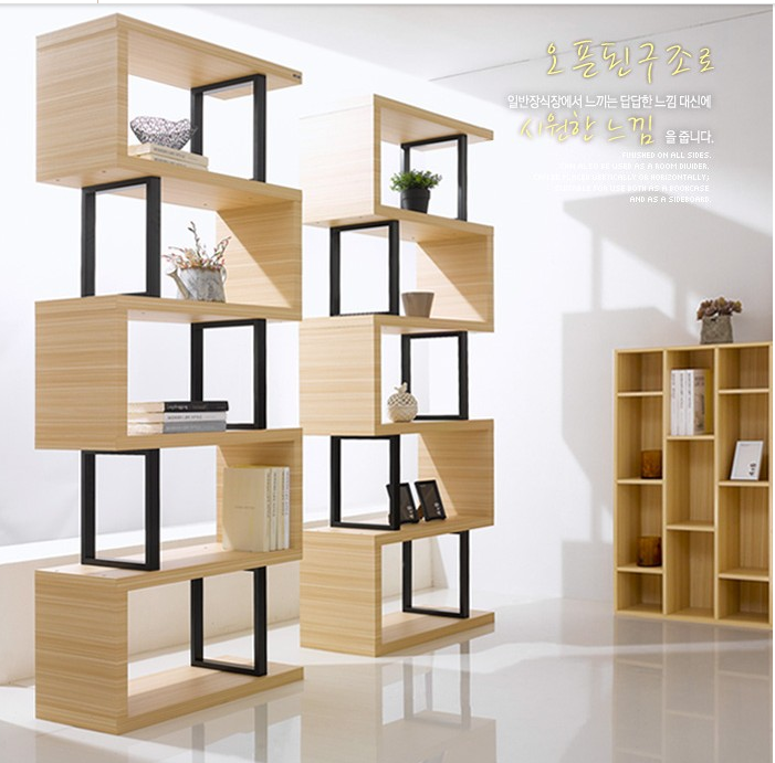 Container Shelf Display Cabinet Bookcase Bookshelf Cabinet Cabinet Rack  Partition Partition Free Ride Combined Bookshelf Book