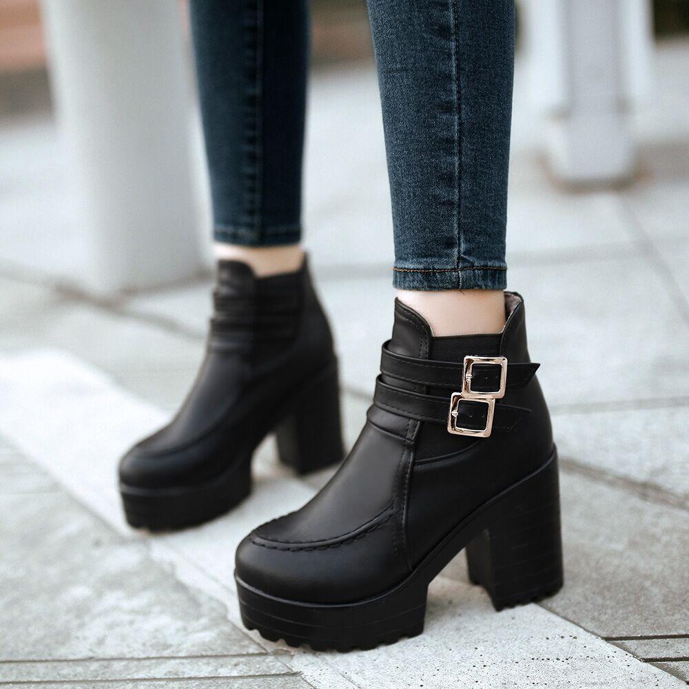韩国2015冬季新款真皮女尖头细跟短靴及踝靴短筒裸靴子高跟女鞋子