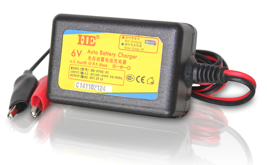 Usd 11 70 He 7 2v1a 6v Battery Charger 6v Battery Charger Toy Car