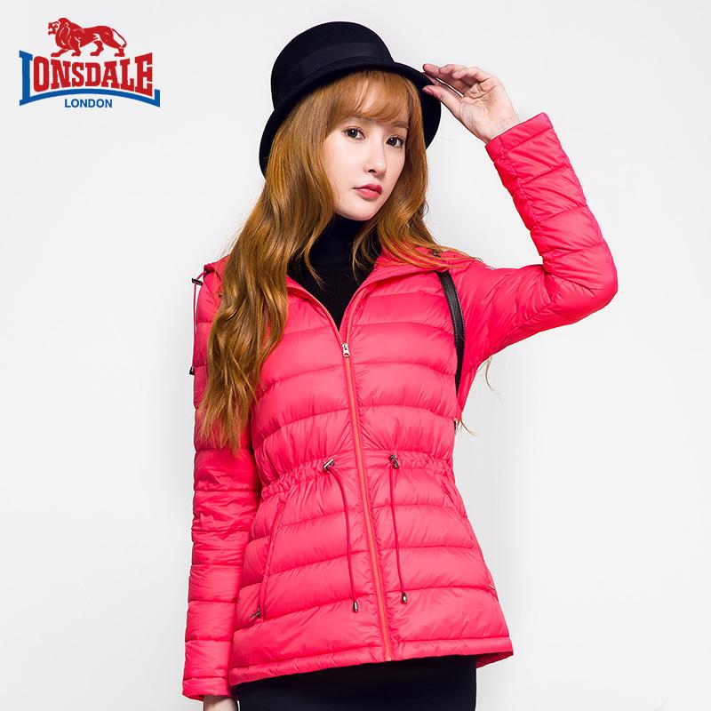 龙狮戴尔2015新款轻薄羽绒服女短款韩版修身冬季外套显瘦女装冬装