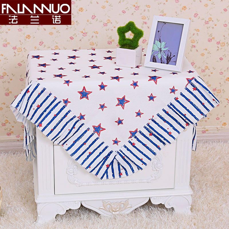 Cover Towel Cover Cloth Fabric Square Garden Bedside Refrigerator Air  Conditioning Washing Machine Dust Cover Small