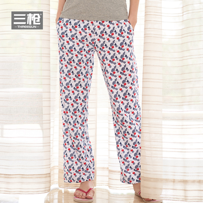 Usd 5546 Three Gun Pajama Pants Female Casual Trousers Ladies