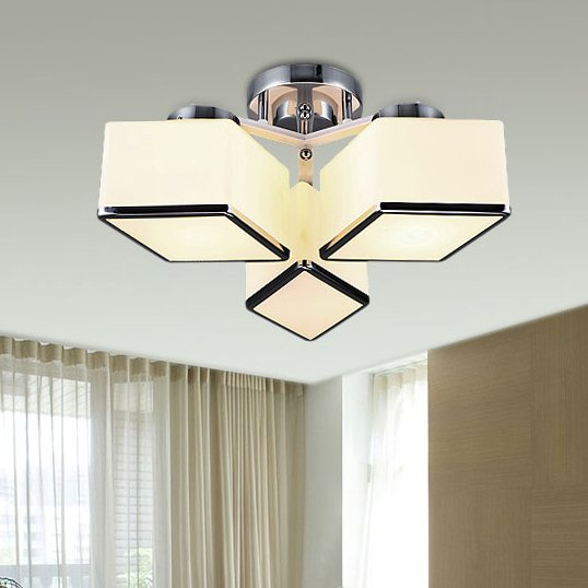 菱形镜子玻璃台灯现代时尚 酒店客厅旅馆软装工程卧室床头桌灯