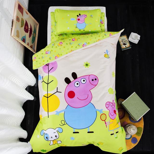 Детский сад одеяло шесть штук хлопка детей мультфильм НПД хлопок одеяло основные три части кровати продукции