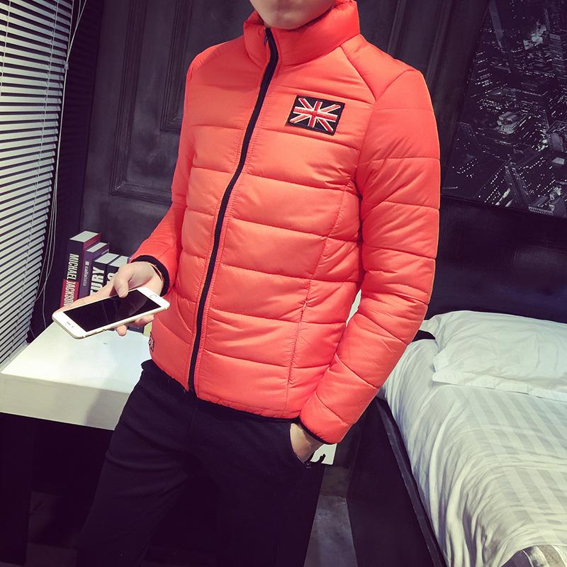 2015冬季立领棉衣男士加肥加大码韩版棉服薄外套棉袄子潮保暖男装