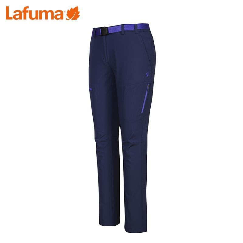 法国LAFUMA乐飞叶女士户外防风速干透气弹力运动九分裤LFP06BC33