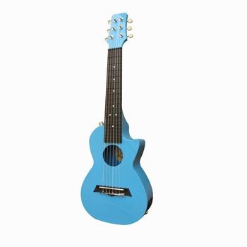 Гитары электроакустические,  Бесплатная доставка -28 дюймовый electric box гитара  6 аккорд электрическая коробка гитара корея корея гитара в в путешествие гитара AGL-28E-6, цена 2426 руб