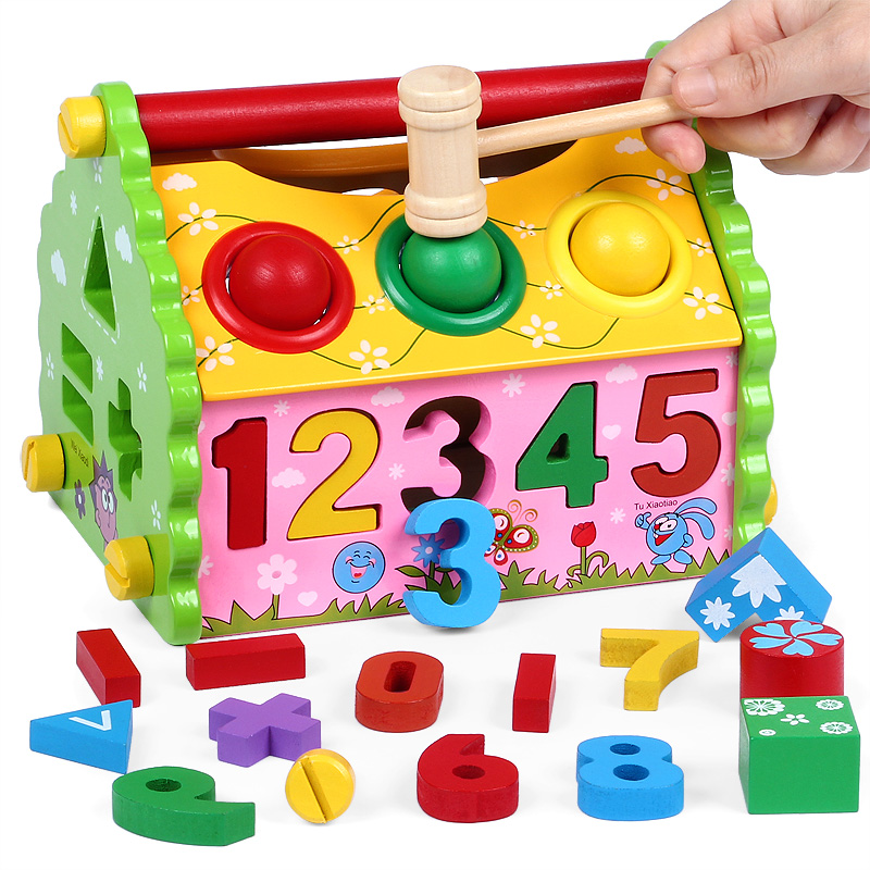 Children Early Education Educational Toys Boy Female Baby 1 2 3 4 5 6 7 Years Old And Above Gift Boys Girls 0 Weeks