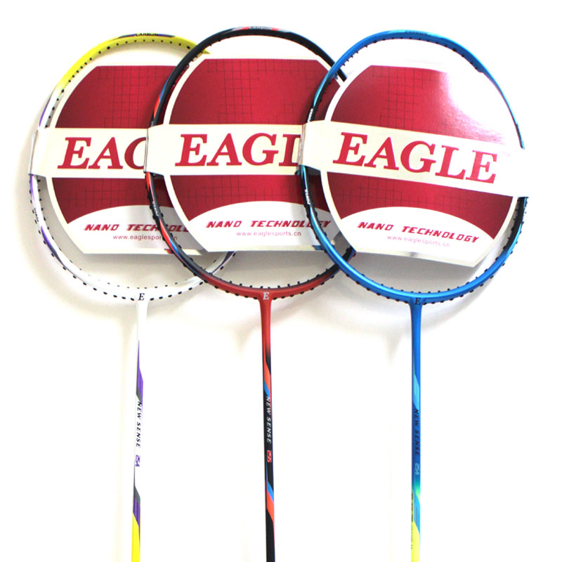 USD 30.08] eagle eagle professional badminton racket full carbon men ...
