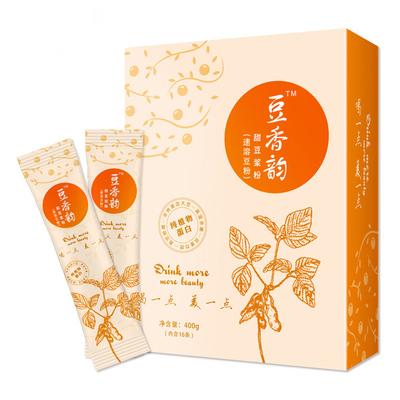 刘涛代言甜豆浆粉早餐奶400g