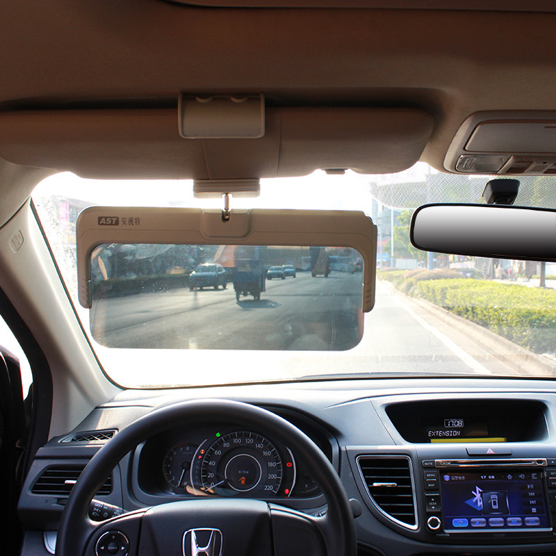 Anshi special car intelligent color LCD filter sun visor day and night  dual-use driver 2d0f0d699a2
