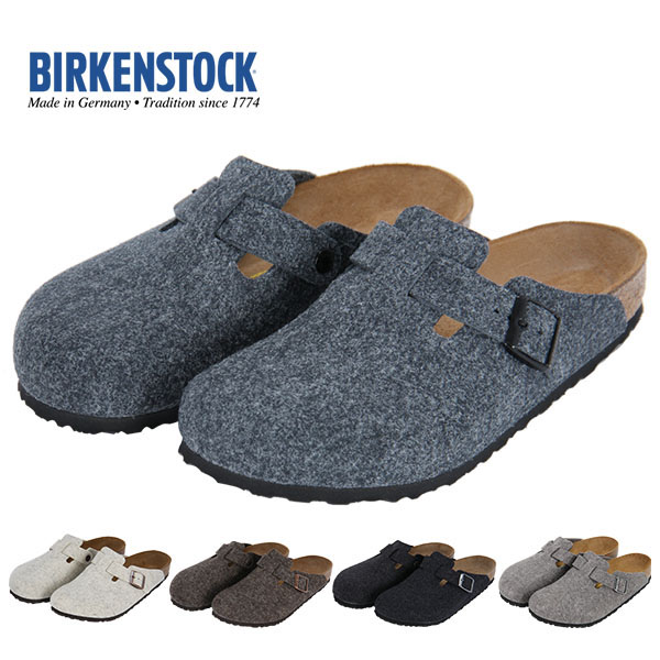 bc013070f41 Hong Kong genuine BIRKENSTOCK Boken shoes Boston men and women Baotou  slippers wool made in Germany