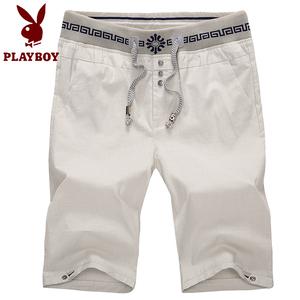 Playboy mùa hè quần short giản dị của nam giới Hàn Quốc phiên bản của năm quần mùa hè Wei quần thẳng quần âu nam quần