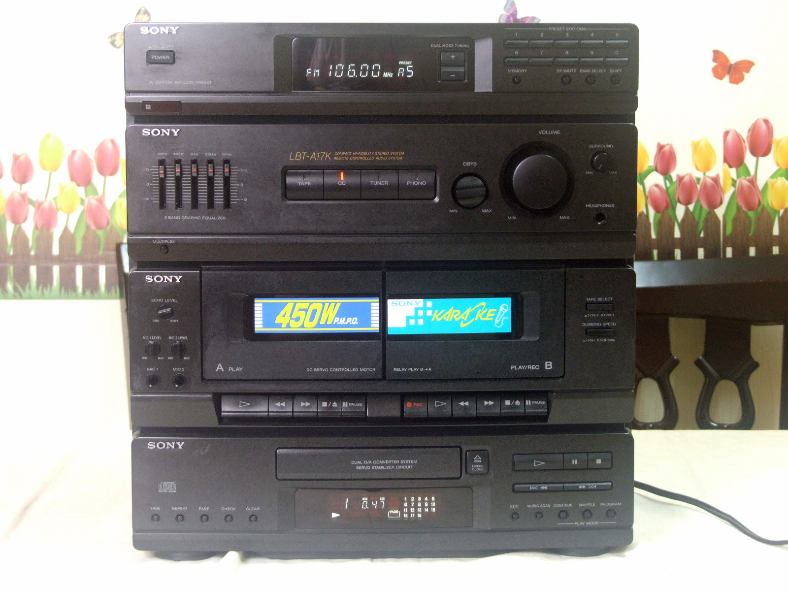 Аудиосистема Sony HCD-A17K
