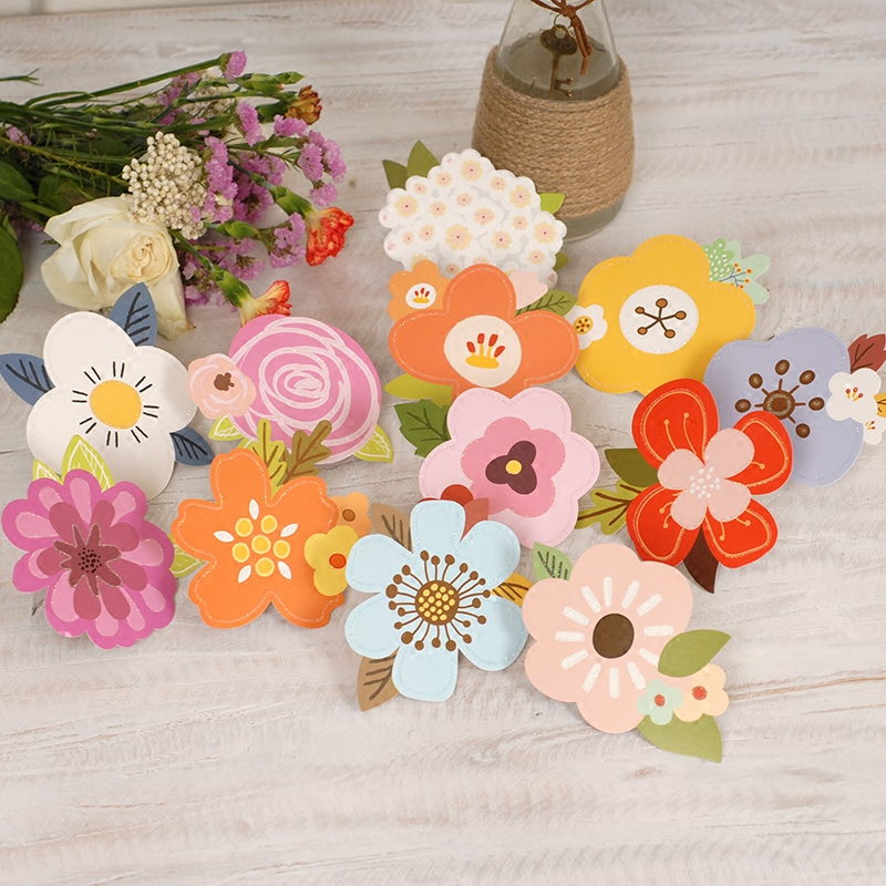 Usd 427 dreamday korea cute flower shop wishes message small dreamday korea cute flower shop wishes message small greeting cards holiday thank small card mini m4hsunfo