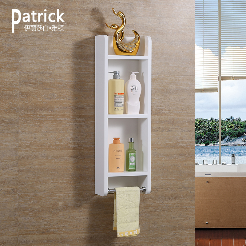 Side Cabinet Bathroom Cabinet PVC Bathroom Mirror Side Cabinet Small  Storage Cabinet Bathroom Wall Cabinet With